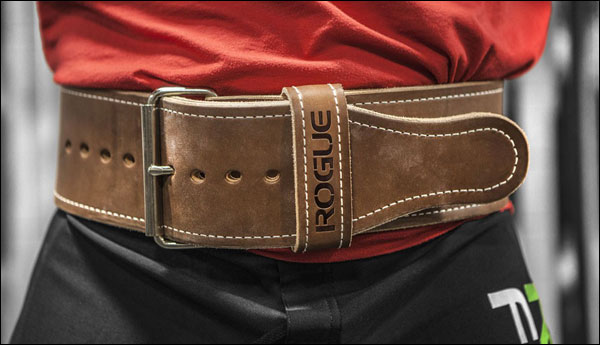Rogue's Ohio Lifting Belt - 10 mm x 4 inches