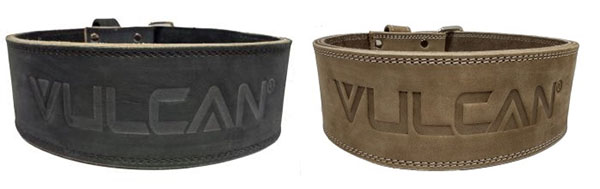 Vulcan 10 mm Powerlifting Leather Belt