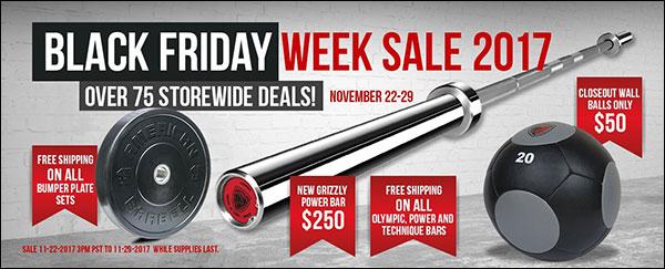 American Barbell Black Friday Week Sale