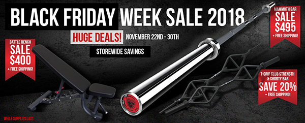 American Barbell Black Friday Sale