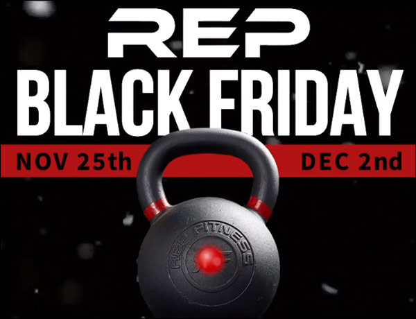 Rep Fitness' Black Friday and Cyber Monday Deals