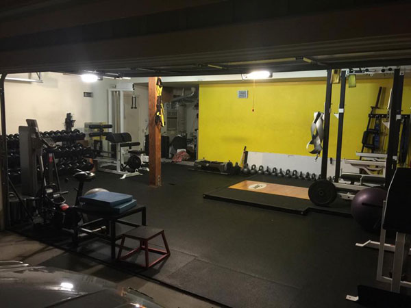 Cali Garage Gym - submitted via facebook.com/garagegyms