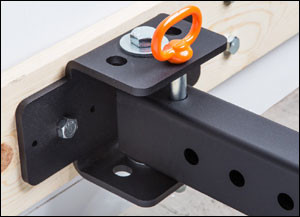 Rogue Folding Rack Hinge system