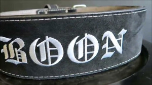 Pioneer Custom Lifting Belt
