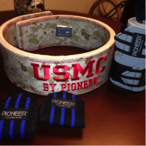 Pioneer USMC Custom Power Belt