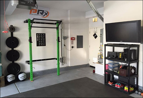 Garage workout racks dandk
