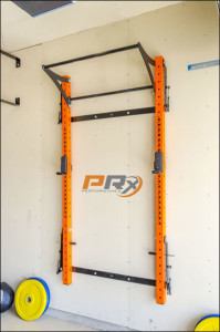 The PRx Profile Rack when stowed away.