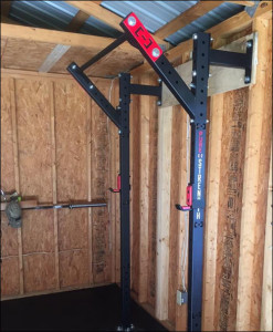 Side view of the Slim Gym Rig by Pure Strength