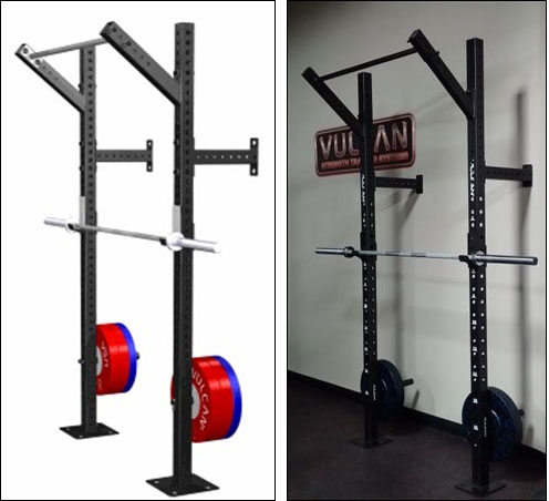 Vulcan Slim Fit Wall-Mounted Pull-up Rig
