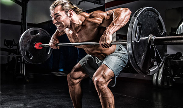 Bent-Over Barbell Row Featured Image - Alternative to Seated Cable Rows
