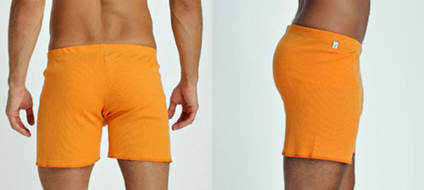 4-rth Fusion Yoga / Gym Shorts (back/side)