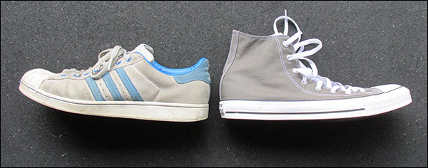 Adidas Superstar vs. Converse Chuck Taylor - basic training sneakers