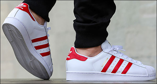 Adidas Superstars are comfortable, fit snugly, offer arch support, and have a fully flat sole