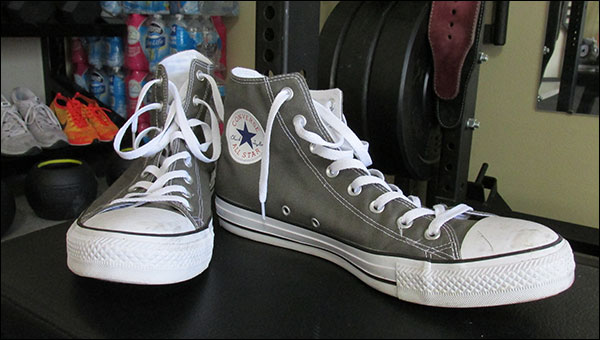 Converse Chuck Taylor All Stars for deadlifts and general strength training