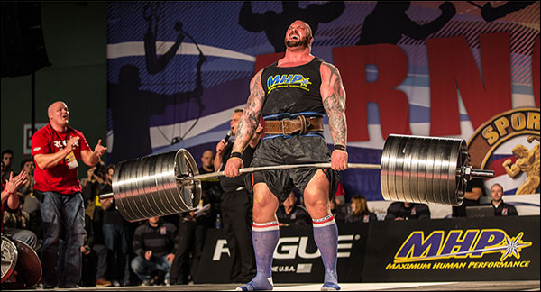 Rogue Elephant Bar at the '16 Arnold Strongman Classic