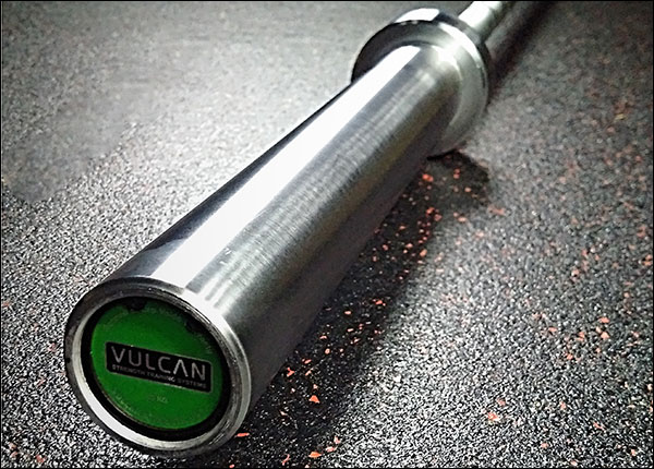 the Vulcan One Basic 15 kg women's Olympic Bushing Bar