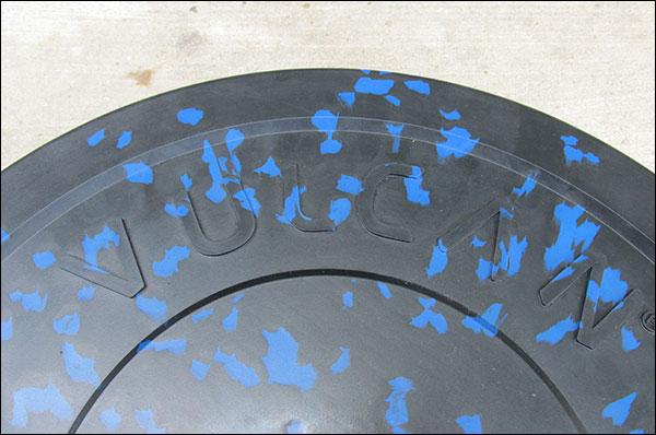 Vulcan Alpha color flakes look like crumb rubber, but there is no texture - completely seamless