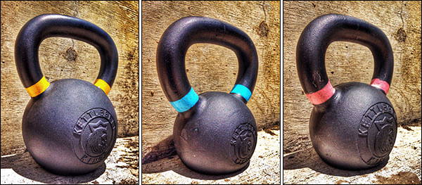 Powder Coat Training Kettlebells by Kettlebell Kings
