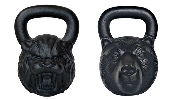Animal Face Kettlebells by KettlebellKings