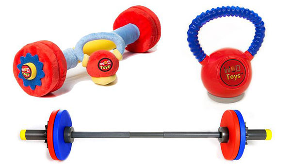 Children's WOD toys at Rogue Fitness