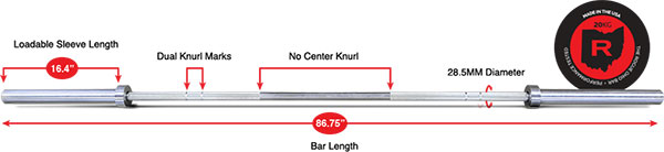 Stainless Steel Ohio Bar - technical specifications