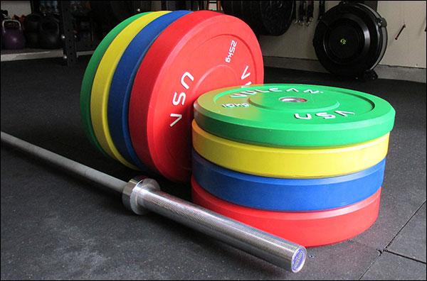 Vulcan KG Training Olympic Bumper Plates
