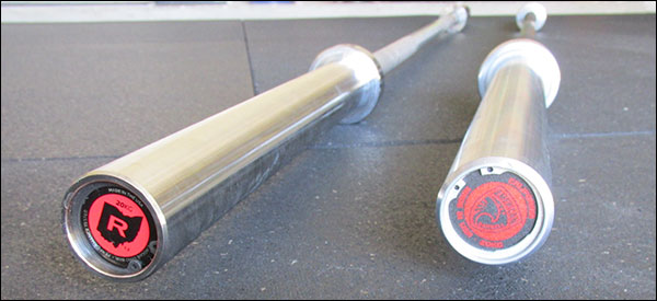 Rogue Stainless Steel Ohio Bar vs American Barbell Cerakote California Bar
