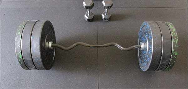 Is a 260-pound curl enough weight for you? Seems like a lot to me!