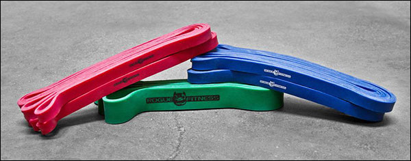 Rogue Monster Bands for use with the SuperQuake and other Bamboo Bars