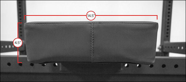 Thompson Fat Pad specifications and dimensions
