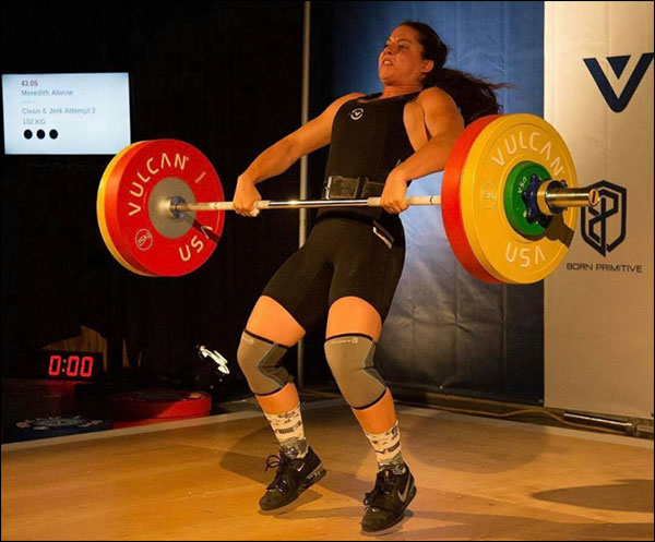 Vulcan Pro Olympic Weightlifting Bars at the 2016 RVA Open