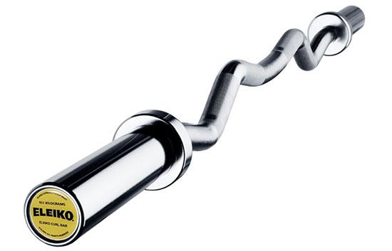 Eleiko 12 kg EZ Curl Bar w/ needle bearings