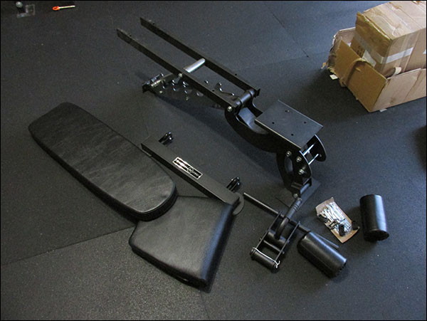 Some Assembly Required - Rep FID Adjustable Bench