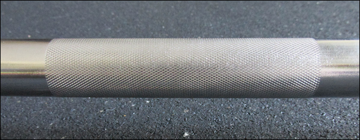 Passive Center Knurling - Vulcan Pro Oly Bar