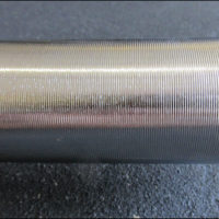Grooved, chrome sleeves of the Vulcan Pro Oly