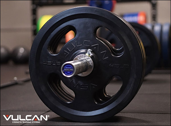 Vulcan's new Rubber Coated Quad-Grip Plates