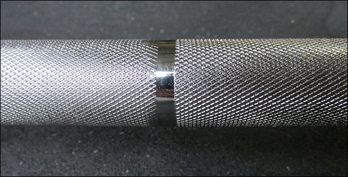 Previous generation Eleiko knurling - IWF bars
