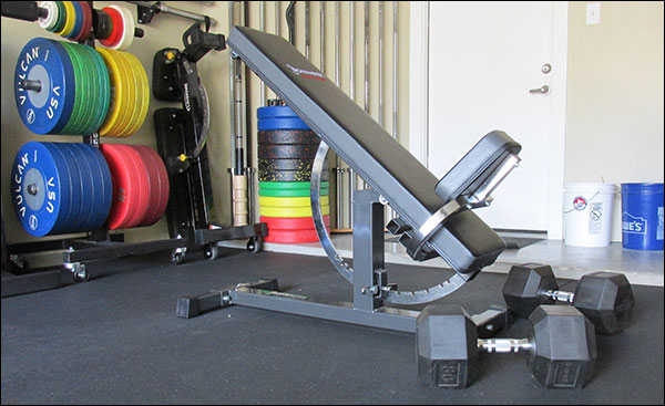 incline mode - IronMaster Super Bench