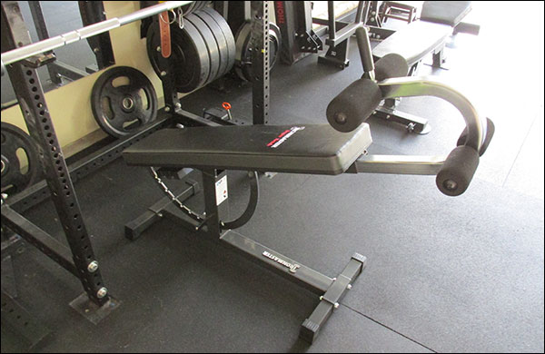 IronMaster Super Bench can handle decline too