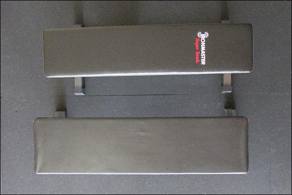 "10""x44"" Super Bench next to a 12""x47"" Rogue Utility Bench"