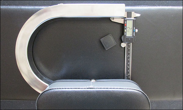 "IronMaster removable seat - 1"" square, 13-gauge steel tubing"