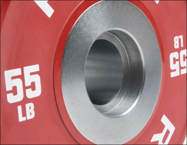 Rubber Dumbbell Bumper Plate insert