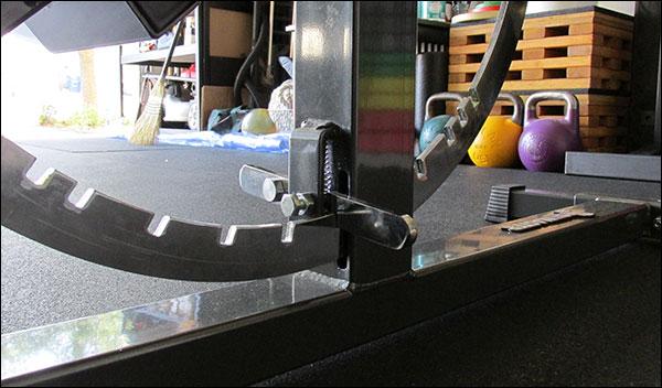 Super Bench Adjustment Wheel