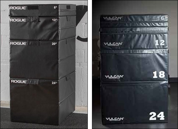 Stackable Soft Plyo Boxes