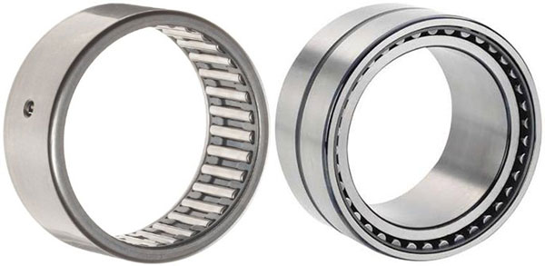 Normal needle bearings versus those with an inner race