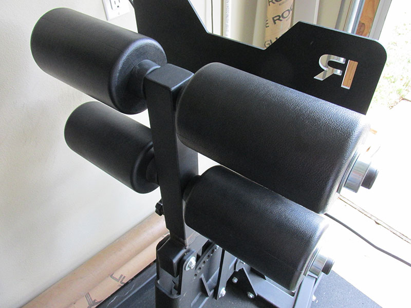 Rogue Abrams 2.0 GHD foot rollers have zero damage
