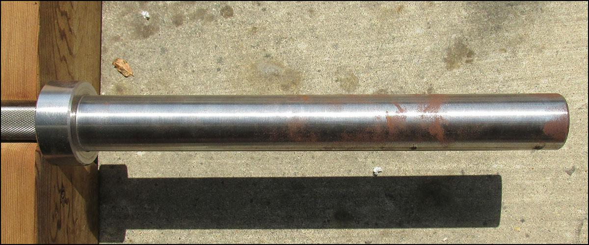 Rusted Rogue Ohio Power Bar sleeve
