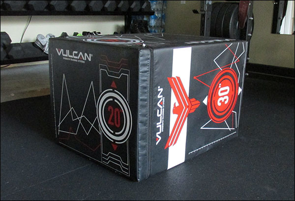 the Vulcan Soft Cube - foam plyometric box
