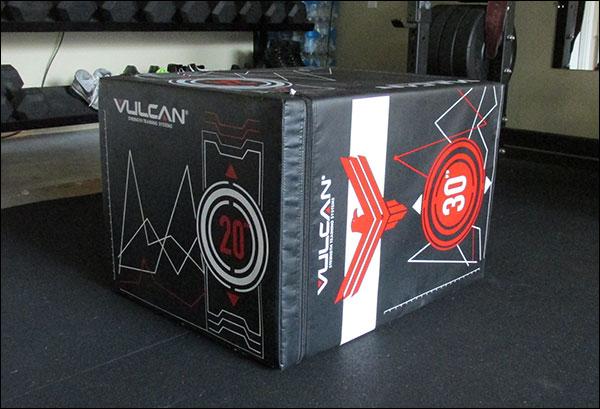 the Vulcan Soft Cube - foam plyometric box