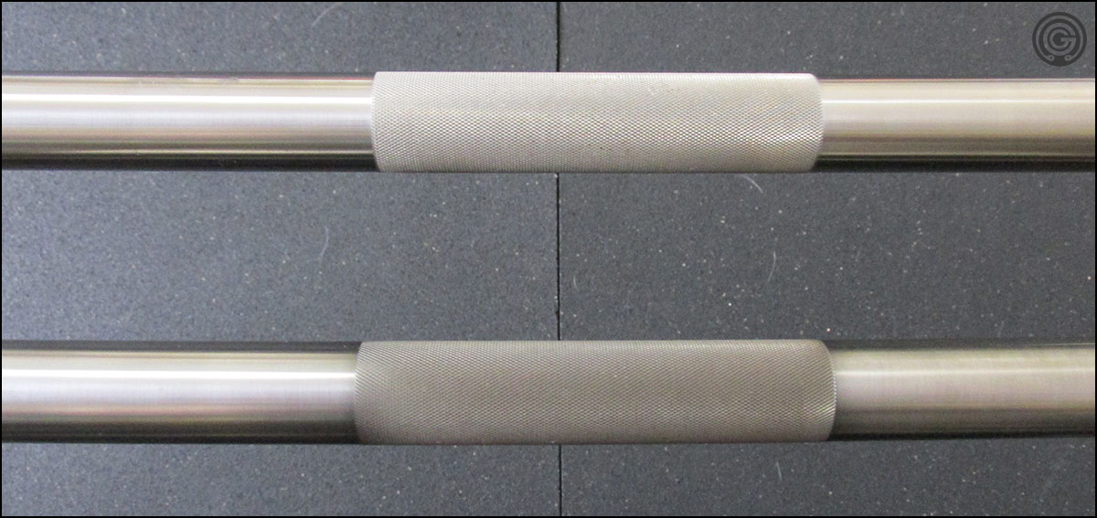 Elite Power Bar (top) versus the Super Power Bar